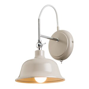 Laughton 1 Light Semi-Flush Wall Light