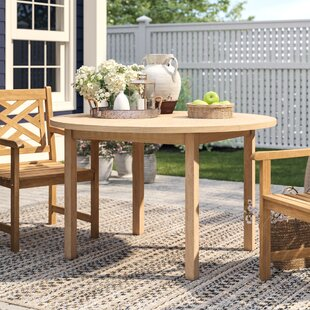 Great choice Summerton Teak Round Dining Table By Birch Lane™