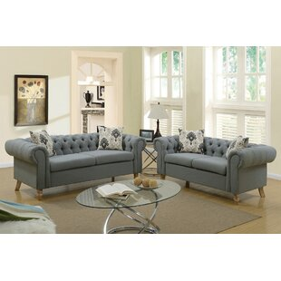 Reviews Torain 2 Piece Living Room Set by Ophelia & Co. Reviews (2019) & Buyer's Guide