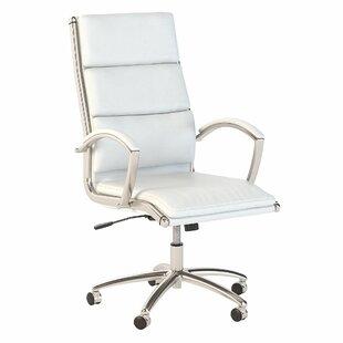Echo High Back Genuine Leather Conference Chair by Bush Business Furniture Spacial Price