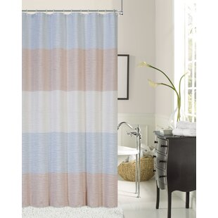 Online Reviews Evelyn Ocean Wave Shower Curtain By Rosecliff Heights
