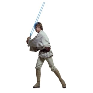 Star Wars Luke Skywalker Cutout Wall Decal by Wallhogs