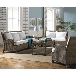 Exuma 5 Piece Conservatory Living Room Set by Panama Jack Sunroom