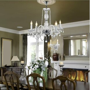 Chandelier wall sconce wayfair josue 5 light candle style chandelier aloadofball Image collections