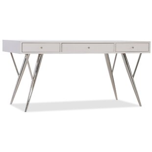 Sophisticated Solid Wood Writing Desk