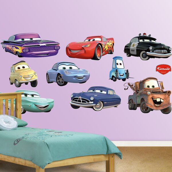 Fathead Disney Cars Wall Decal Wayfair