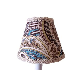Reviews Paisley Power 11 Fabric Empire Lamp Shade By Silly Bear Lighting