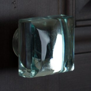 Modern Mirror Glass Cabinet Square Knob (Set of 10)