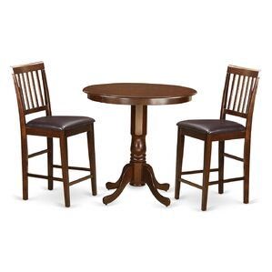Jackson 3 Piece Counter Height Pub Table ..