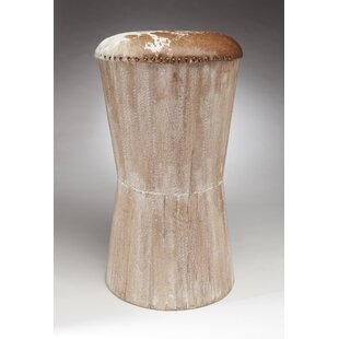 Gorby Cowhide 30 Bar Stool