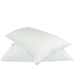 Plain Zipper Pillow Protector (Set of 2)