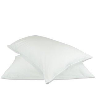 Plain Zipper Pillow Protector (Set of 2)
