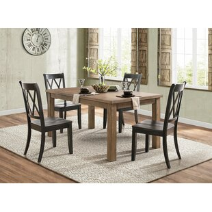 Cheryll Cross Back Side Dining Chair Set Of 2