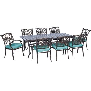 Pleasanton 17 Piece Rectangular Dining Set