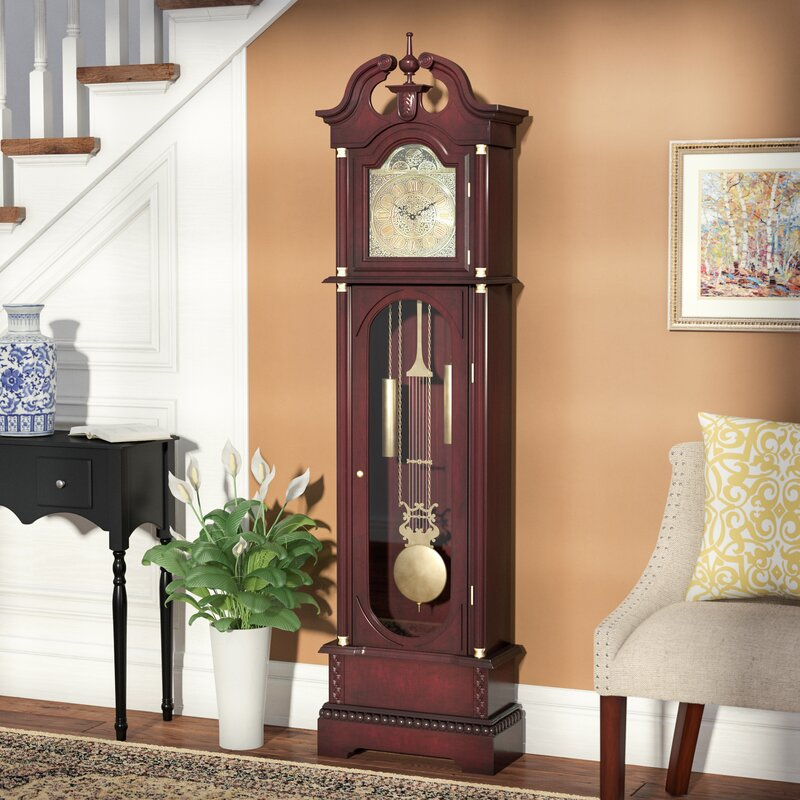 Three Posts 7163 Grandfather Clock Reviews Wayfair