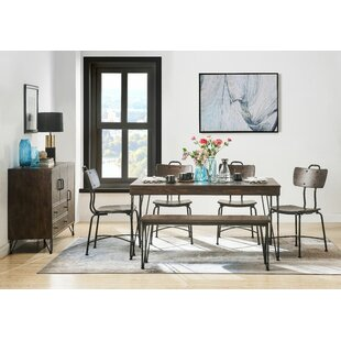 Maximilian 6 Piece Dining Set 17 Stories