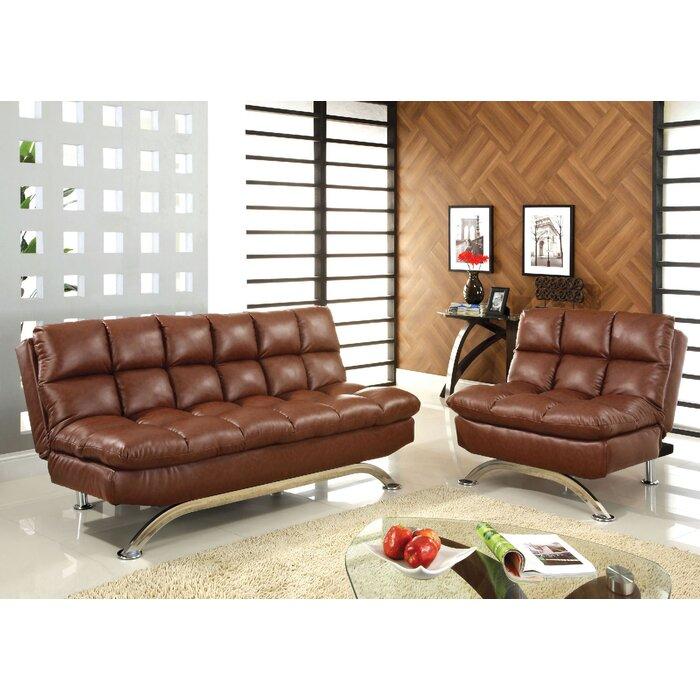 Javier Futon 2 Piece Living Room Set