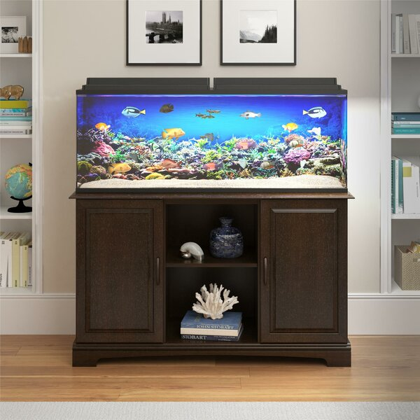 Archie Oscar Deirdre 75 Gallon Aquarium Stand Reviews Wayfair