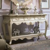 Lavelle Blanc Console Table by Michael Amini