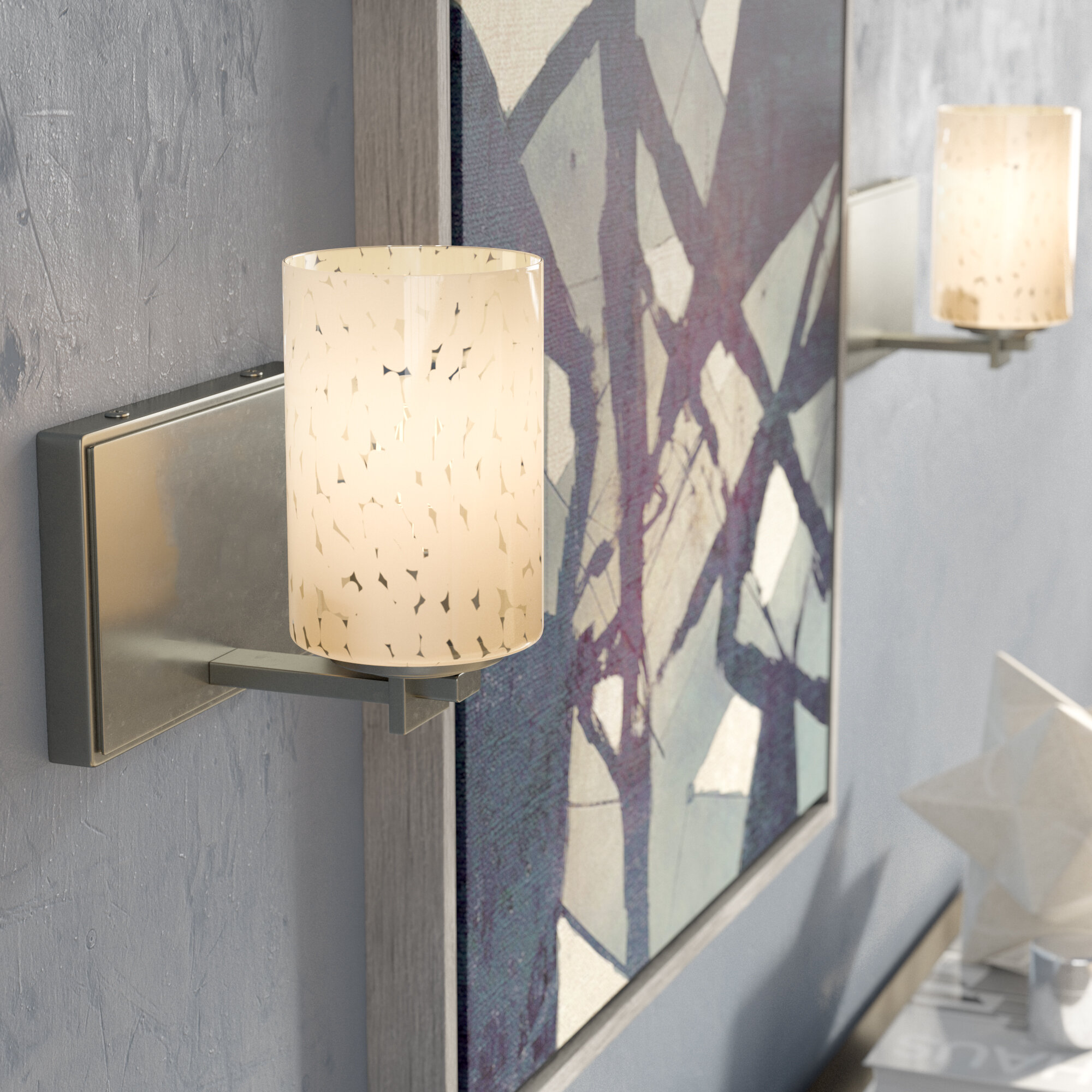 Latitude Run Donashia 1 Light Armed Sconce Wayfair