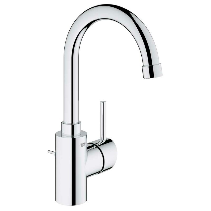 concetto single handle single hole bathroom faucet