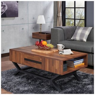 Weehawken Coffee Table with Storage by Union Rustic SKU:DB109597 Order