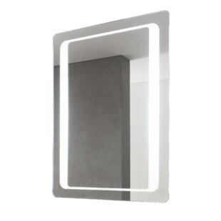 Reviews Illuminated Vanity Wall Mirror By Vanita & Casa by Nameeks