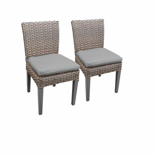 Monterey Patio Dining Chair with Cushion (Set of 4)