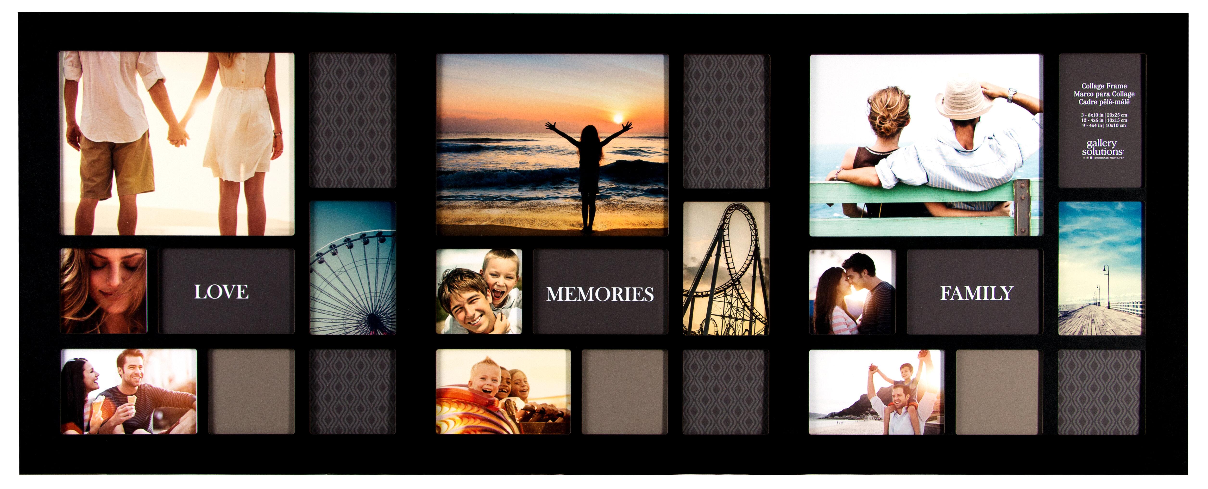 Contemporáneo Marco Collage 8x10 Bandera - Ideas Personalizadas de ...