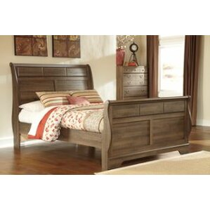 Devondra Sleigh Bed by World Menagerie