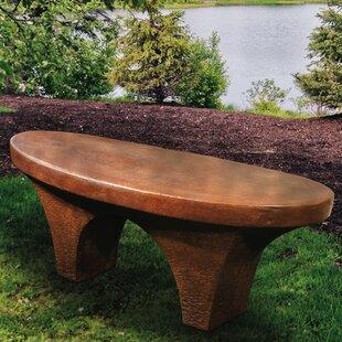 River Stone Garden Bench
