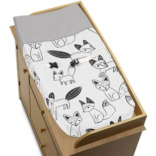 Check Prices Fox Changing Pad Cover By Sweet Jojo Designs