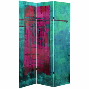 Burruss 3 Panel Room Divider by World Menagerie