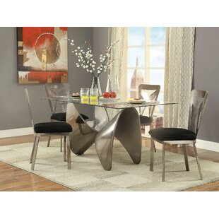 Brilliant 5 Pieces Dining Set by Brayden Studio Today Sale Only
