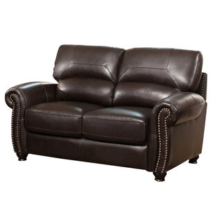 Boley Leather Loveseat