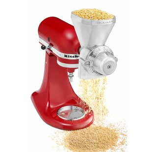 All Metal Grain Mill Attachment for Stand Mixers