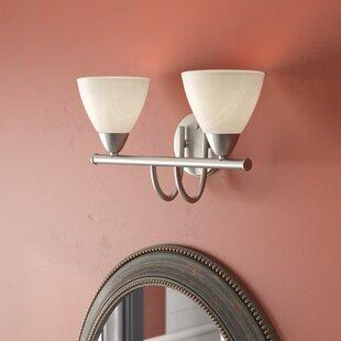 Affordable Sheldrake 2-Light Vanity Light By Andover Mills