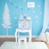 Dreamland Castle Play Vanity Set with Mirror byTeamson Kids