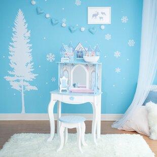 Dreamland Vanity Set with Mirror by Teamson Kids