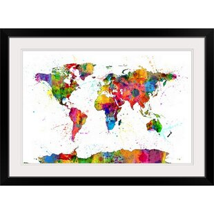 World Map Picture Wayfair