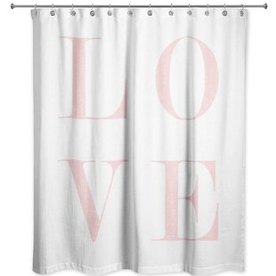 Ferreira Love Single Shower Curtain