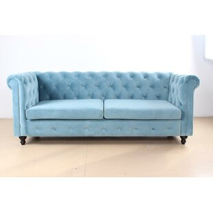 Hampshire Tufted Chesterfield Sofa by Rosdorf Park