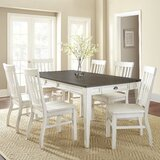 Duclos 7 - Piece Extendable Storage Table Dining Set by Highland Dunes