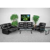 Harben 3 Piece Reclining Living Room Set by Red Barrel Studio®
