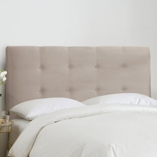 Great choice Kirkinriola Tufted Upholstered Panel Headboard by Corrigan Studio