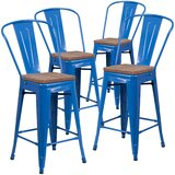 Marianne Bar & Counter Stool (Set of 4) by Williston Forge