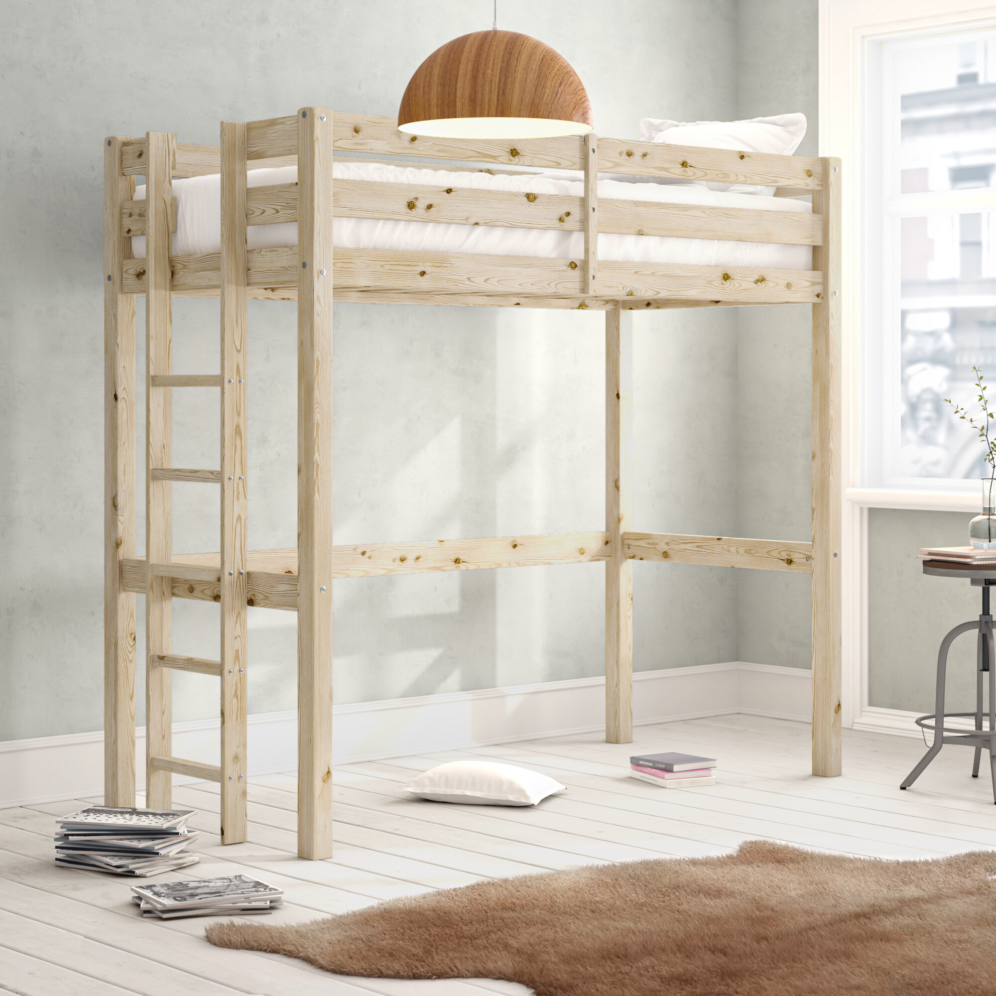 Colburn European Single High Sleeper Bed