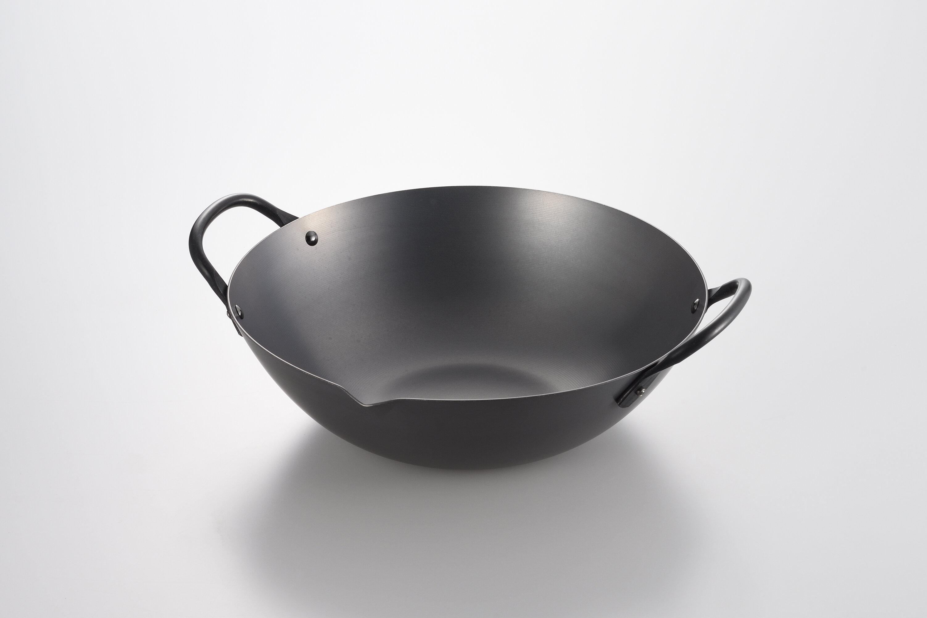 Yoshikawa Cookware Canton Non Stick Carbon Steel Wok Wayfair