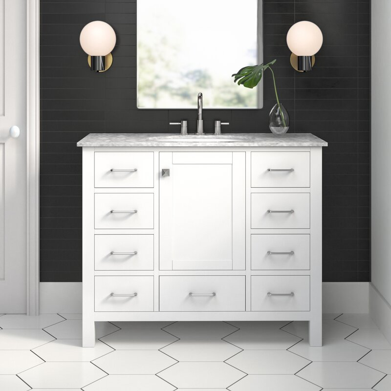 Juno 42 Single Bathroom Vanity Set