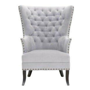 Holly Wingback Chair by Rosdorf Park